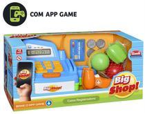 Caixa Registradora Big Shop c/ Aplicativo Som e Luz- 138820 - Usual Plastic