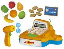 Caixa registradora big shop com som e luz (+ app) - 409 - Usual Brinquedos