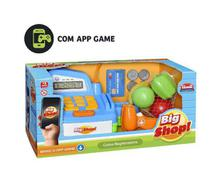 Caixa Registradora Big Shop com Som e Luz (+ APP) - Usual Brinquedos -