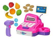 Caixa Registradora Big Shop Com Som e Luz Mercadinho Menina - Usual Brinquedos