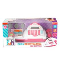 Caixa Registradora Creative Fun Multikids Mini Shopping - Rosa MULTILASER -