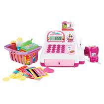 Caixa Registradora - Creative Fun - Rosa - Multikids -