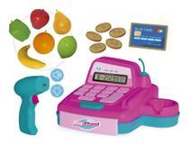 Caixa Registradora De Brinquedo Infantil C/ Acessórios E Som - Usual Brinquedos