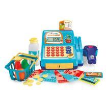 Caixa Registradora De Brinquedo Infantil Com Acessórios Som - Multikids