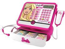 Caixa Registradora Fashion Store Barbie Luxo  - Infantil Fun (4572) - Fun Divirta-Se