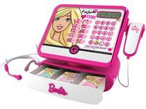 Caixa Registradora Infantil Barbie Luxo Fun - 50 Peças