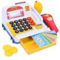 Caixa Registradora Infantil Belfix com Scanner Som e Luzes -