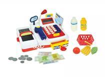 Caixa registradora infantil c/ esteira calculadora luz /som - Belfix