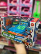 Caixa Registradora Infantil Com Acessórios e Som - Fort Toys