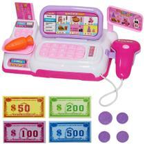 Caixa Registradora Infantil Com Acessórios Luz E Som - Fort Toys