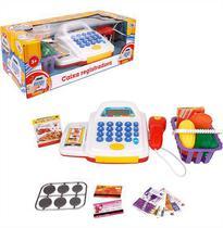Caixa Registradora Infantil Com Acessórios Som e Luz Wellmix -