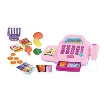 Caixa Registradora Infantil Com Som E Luzes 9141 - Wellmix