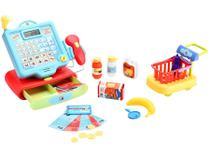 Caixa Registradora Infantil Criative Fun - Super Caixa Registradora Multikids 11 Peças
