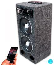"""Caixa Residencial Radio Bluetooth + Falante 7driver 6"""" Pol + Modulo Stetsom - Oestesom"""