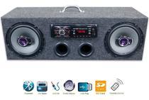 Caixa Residencial Radio Bluetooth + Par Falante 6 Pioneer - Oestesom