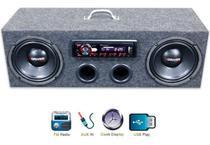 Caixa Residencial Radio Pioneer + Falante 7driver 6 Polegada - Oestesom