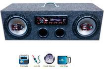 Caixa Residencial Radio Pioneer + Falante Bravox 6 Traxial - Oeste Som