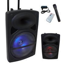 Caixa Som Amplificada Alça Bivolt Bluetooth Microfone Rádio - Feito Média