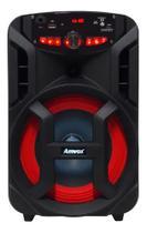 Caixa Som Amplificada Amvox Aca 188 Bluetooth Portátil -