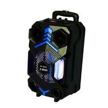 Caixa Som Amplificada Bluetooth Potente Controle Microfone - Xz