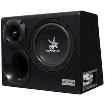 Caixa Som Automotivo Amplificada Trio 8 300W Rms Corzus CXT300-8 com Módulo Completa -