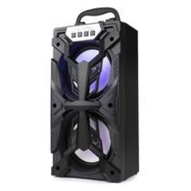 Caixa Som Bluetooth Grasep D-BH4206 Preta -