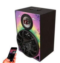 Caixa Som Bluetooth Usb Ativa Amplificada Stetsom Bravox Bob - Oestesom