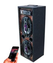 Caixa Som Bluetooth Usb Ativa Modulo Taramps Pioneer 6x9 - Oestesom