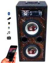 Caixa Som Bluetooth Usb Ativa Residencial Falante Bravox 6 - Oestesom