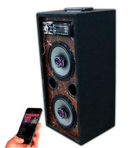 Caixa Som Bluetooth Usb Ativa Residencial Falante Pioneer 6 - Oestesom