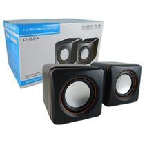 Caixa Som Portátil 5w Notebook Computador Celular Usb P2 Pc - Multimedia Speaker