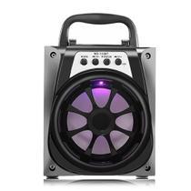 Caixa Som Portátil Bluetooth Mp3 Pen Drive Radio Fm Auxiliar 8w Aero D-BH1064 Preto - Xtrad