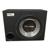 Caixa Som Sub 12 Pioneer 350w Rms Ts-W3060br Dutada 4 Ohms - Vinisound