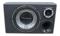 Caixa Som Trio Pioneer 12 Completa + Modulo Taramps Tl 1500 - Oestesom