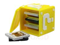 Caixa Super Mário de Jogos para Nintendo 3DS NDS Porta Jogos - Artbox3D