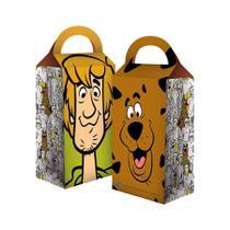 Caixa Surpresa Scooby Doo 08 unidades Festcolor - Festabox