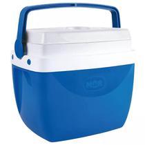 Caixa Térmica 12 Litros Azul com Alça Mor -
