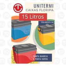 Caixa termica 15 litros -uniterm - unitem