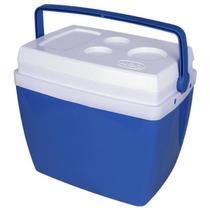 Caixa Térmica 26 Litros Azul Com Alça 25108171 - Mor -