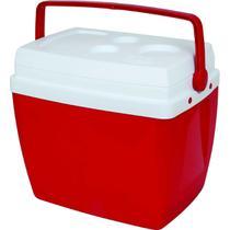 Caixa Térmica 26L Vermelha Mor -