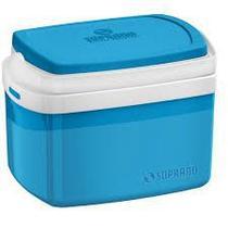 Caixa Térmica 28 Litros - Azul - Soprano -