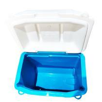Caixa Térmica 28 Litros Igloo com Alça e Rodas Profile 30 Roller Preto, Branco e Azul -