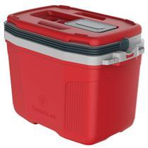 Caixa Térmica 32L Vermelha - Termolar -