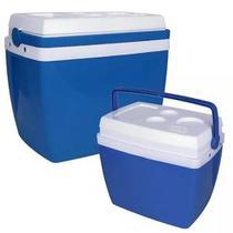 Caixa Térmica 34 Litros Azul MOR - Térmicos