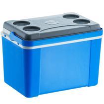 Caixa Térmica 34 Litros Lavita com Alça Azul -