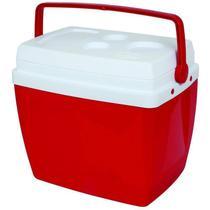 Caixa Térmica 34 Litros Vermelha-Mor -