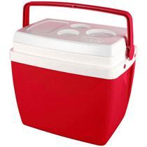 Caixa Térmica 34 Litros Vermelho Mor -