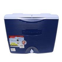 Caixa Térmica 42,5 Litros 45 QT Azul com Rodas - Rubbermaid -