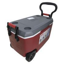 Caixa térmica 62qt 58 litros xtreme vermelha - coleman -