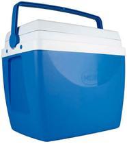 Caixa Térmica Azul 34 Litros Praia Piscina Cooler Verão Mor -